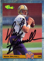 MARK BRUNELL AUTOGRAPHED ROOKIE FOOTBALL CARD #81912i