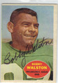 BOBBY WALSTON PHILADELPHIA EAGLES AUTOGRAPHED VINTAGE FOOTBALL CARD #81913B