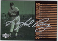 GAYLORD PERRY SAN FRANCISCO GIANTS AUTOGRAPHED BASEBALL CARD #82013D