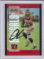 "Chad Johnson ""Ochocinco"" Cincinnati Bengals Autographed Football Card #82110Q"