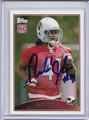 Rashad Johnson Autographed Football Card #82110U