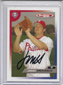Jason Michaels Autographed Baseball Card #82110X