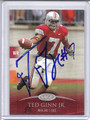 Ted Ginn Jr Autographed Football Card #82110Z