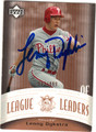 LENNY DYKSTRA PHILADELPHIA PHILLIES AUTOGRAPHED & NUMBERED BASEBALL CARD #82313F