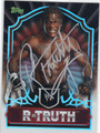 R-TRUTH AUTOGRAPHED WRESTLING CARD #82313H