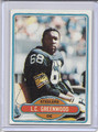 L. C. Greenwood Autographed Football Card #82210V