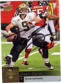 DREW BREES AUTOGRAPHED FOOTBALL CARD #82412G