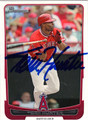 TORII HUNTER AUTOGRAPHED BASEBALL CARD #82412i