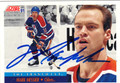 MARK MESSIER EDMONTON OILERS AUTOGRAPHED HOCKEY CARD #82412J