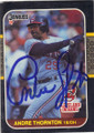 Andre Thornton Autographed Baseball Card #82510L