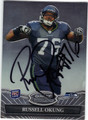 RUSSELL OKUNG SEATTLE SEAHAWKS AUTOGRAPHED ROOKIE FOOTBALL CARD #82413L