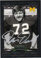 DAN DIERDORF AUTOGRAPHED FOOTBALL CARD #82612D