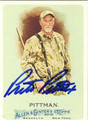 PRESTON PITTMAN AUTOGRAPHED CARD #82612E