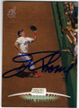 JIM THOME CLEVELAND INDIANS AUTOGRAPHED BASEBALL CARD #82613i