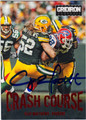 CLAY MATTHEWS GREEN BAY PACKERS AUTOGRAPHED FOOTBALL CARD #82613L
