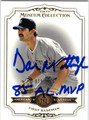 DON MATTINGLY NEW YORK YANKEES AUTOGRAPHED & NUMBERED BASEBALL CARD #82713C