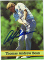 ANDY BEAN AUTOGRAPHED GOLF CARD #82811G
