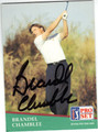 BRANDEL CHAMBLEE AUTOGRAPHED GOLF CARD #82913F