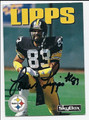 LOUIS LIPPS AUTOGRAPHED FOOTBALL CARD #82910A