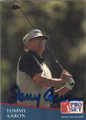 Tommy Aaron Autographed Golf Card 833