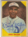 BING MILLER PHILADELPHIA ATHLETICS AUTOGRAPHED VINTAGE BASEBALL CARD #90113i