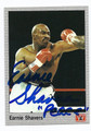 EARNIE SHAVERS AUTOGRAPHED BOXING CARD #90310P