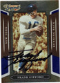 FRANK GIFFORD NEW YORK GIANTS AUTOGRAPHED & NUMBERED FOOTBALL CARD #90413K
