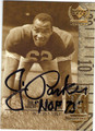 JIM PARKER BALTIMORE COLTS AUTOGRAPHED FOOTBALL CARD #90513K
