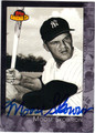 MOOSE SKOWRON NEW YORK YANKEES AUTOGRAPHED BASEBALL CARD #90513N