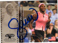 SERENA WILLIAMS AUTOGRAPHED TENNIS CARD #90613B