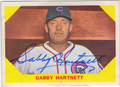 GABBY HARTNETT CHICAGO CUBS AUTOGRAPHED VINTAGE BASEBALL CARD #90613F