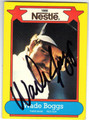 WADE BOGGS BOSTON RED SOX AUTOGRAPHED BASEBALL CARD #90613N