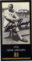 GENE SARAZEN AUTOGRAPHED GRAND SLAM VENTURES GOLF CARD #90313C