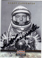 SCOTT CARPENTER AUTOGRAPHED CARD #90713G
