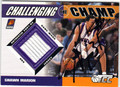 SHAWN MARION PHOENIX SUNS AUTOGRAPHED PIECE OF THE GAME BASKETBALL CARD #90713H