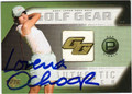 LORENA OCHOA AUTOGRAPHED PIECE OF THE GAME GOLF CARD #90713i