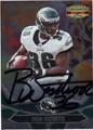 BRIAN WESTBROOK PHILADELPHIA EAGLES AUTOGRAPHED FOOTBALL CARD #90713N