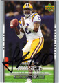 JAMARCUS RUSSELL OAKLAND RAIDERS AUTOGRAPHED ROOKIE FOOTBALL CARD #90813J