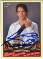 JOE SAKIC AUTOGRAPHED HOCKEY CARD #90813K