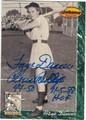 FAYE DANCER PEORIA REDWINGS AUTOGRAPHED BASEBALL CARD #90913i