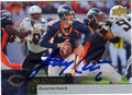 JAY CUTLER DENVER BRONCOS AUTOGRAPHED FOOTBALL CARD #90913L