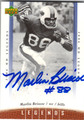 MARLIN BRISCOE BUFFALO BILLS AUTOGRAPHED FOOTBALL CARD #90913H