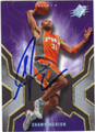 SHAWN MARION PHOENIX SUNS AUTOGRAPHED BASKETBALL CARD #91013L