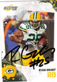 RYAN GRANT AUTOGRAPHED FOOTBALL CARD #91011J