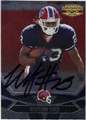 MARSHAWN LYNCH BUFFALO BILLS AUTOGRAPHED FOOTBALL CARD #91013B