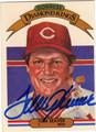TOM SEAVER CINCINNATI REDS AUTOGRAPHED VINTAGE BASEBALL CARD #91013D