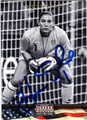 HOPE SOLO US WOMENS OLYMPIC SOCCER AUTOGRAPHED CARD #91113E