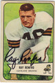 RAY RENFRO CLEVELAND BROWNS AUTOGRAPHED VINTAGE FOOTBALL CARD #91113i