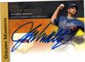 JOHN SMOLTZ AUTOGRAPHED BASEBALL CARD #91212E