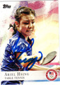 ARIEL HSING AUTOGRAPHED OLYMPIC TABLE TENNIS CARD #91212L